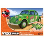 Volkswagen Kever '' Flower Power''  [ Quickbuild - Lego Systeem ]