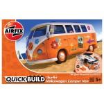 Volkswagen Camper Van ''Surfin'' [ Quickbuild - Lego Systeem ]