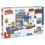 Car Wash Playset incl Bugatti Chiron '' Street Fire''