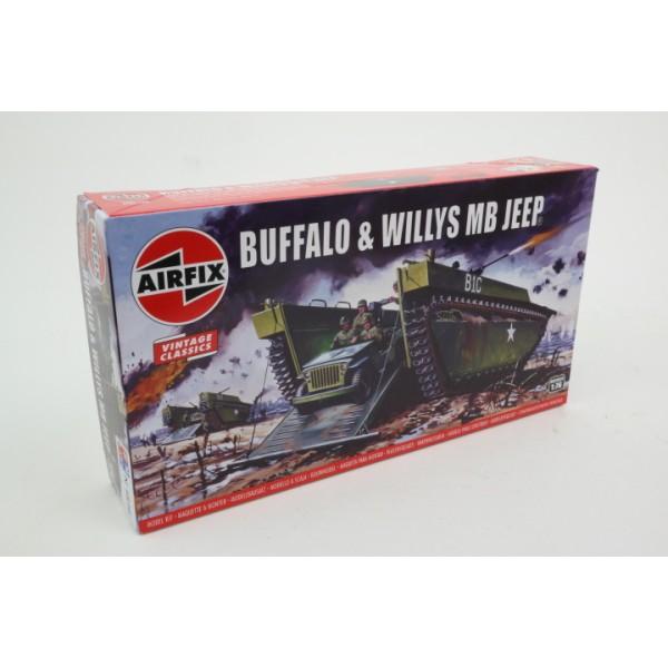 Buffalo & Willys MB Jeep