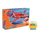RAF Red Arrows Hawk [Quickbuild - Lego Systeem]