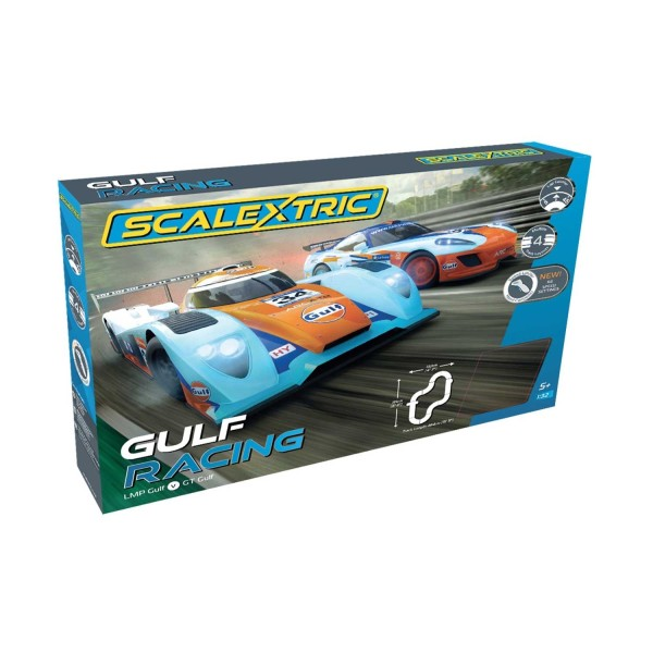 Gulf Racing Set ''Gulf LMP vs GT Gulf''