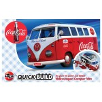 Volkswagen Camper Bus ''Coca Cola''  [Quickbuild - Lego Systeem]