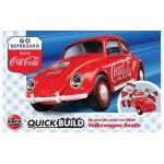 Volkswagen Kever ''Coca Cola'' [ Quickbuild - Lego Systeem ]