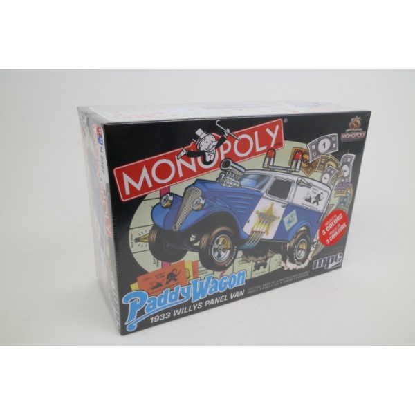 Willys Panel Paddy Wagon 1933 ''Monopoly''