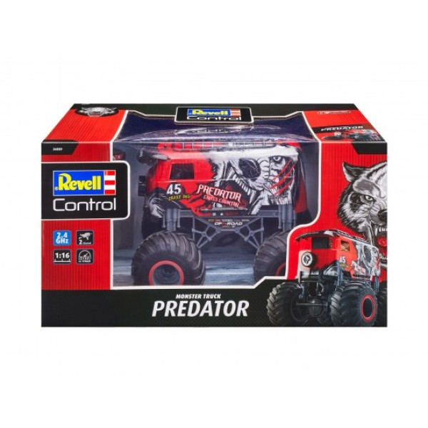Monster Truck ''Predator'' RC Control Car