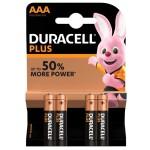 AAA Duracell Alkaline Batterijen LR03 [ 4 Stuks ]
