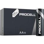 AA Procell / Duracell Alkaline Batterijen LR06  [ 10 stuks ]