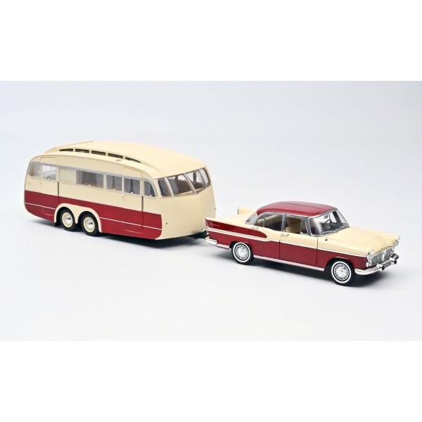 Simca Vedette Chambord 1958 & Caravane Hénon