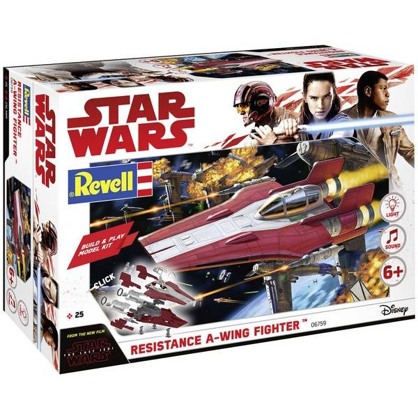 Star Wars Resistance A-Wing Fighter