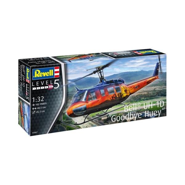 Bell UH-1D  ''Goodbye Huey''