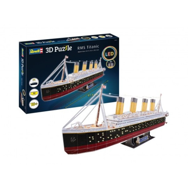 RMS Titanic 3D Puzzel ''Led Edition''