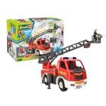 Brandweer Ladderwagen + Brandweerman