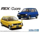 Daihatsu / Subaru Set , Cuore / Rex 1981