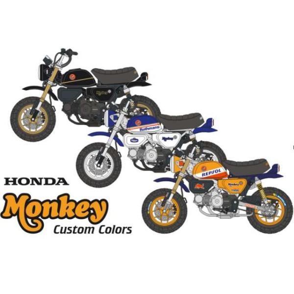 Honda Monkey 125 Custom Colors Decals