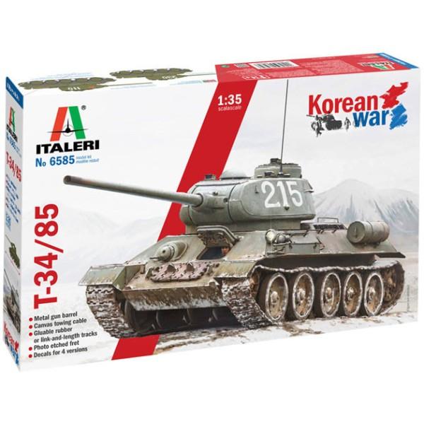 T-34/85 Korean War