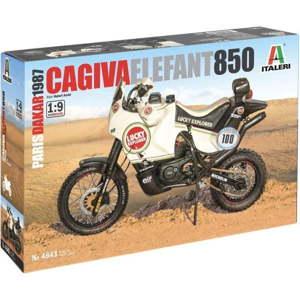 Cagiva Elephant 850 1987 ''Paris Dakar''