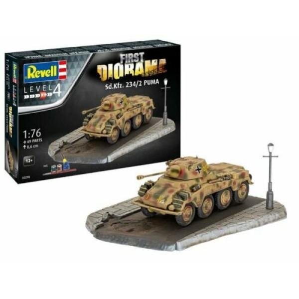 SD.KFZ. 234/2 Puma Tank ''First Diorama Set''