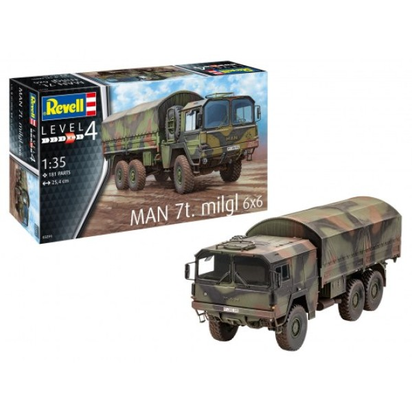 MAN 7T. Milgl 6x6