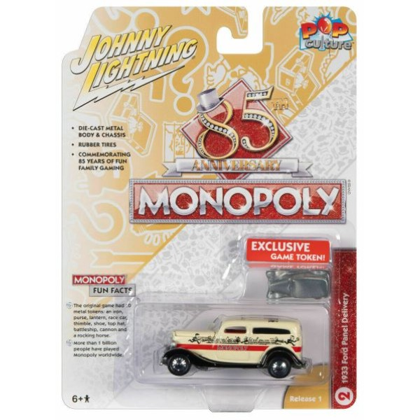 Ford Panel Delivery 1933 ''Monopoly'' incl. Spel Token