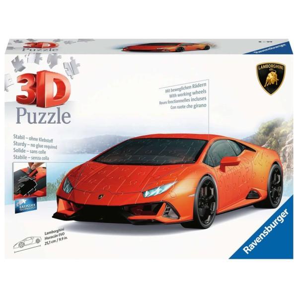 Lamborghini Huracan Evo ''3D Puzzel''