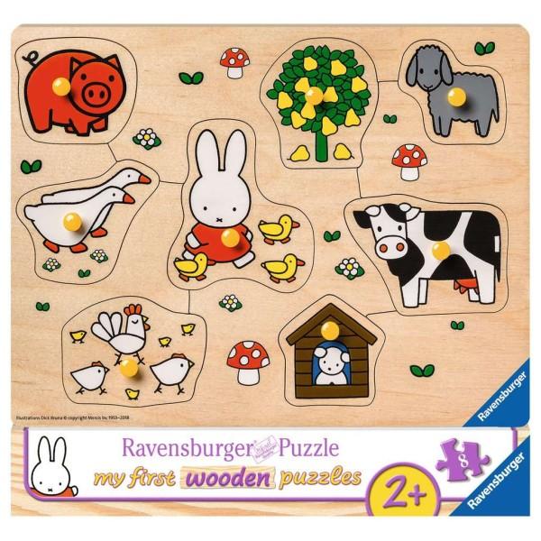 Nijntje op de Boerderij ''My First Wooden Puzzel''