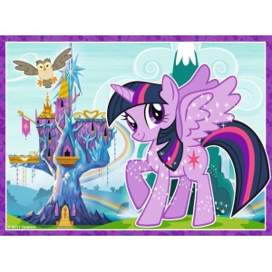 My Little Pony ''4 in 1 Box Puzzel''
