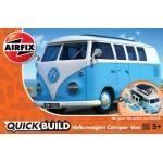 Volkswagen Camper Bus [ Quickbuild - Lego Systeem ]