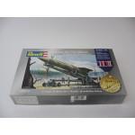 German A4 [V2] Missile & Trailer & Launchingpad