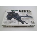 German LeFH18 10,5cm Howitzer