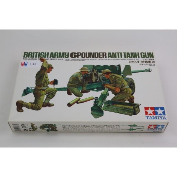 British Army 6 Pounder ''Anti-Tank Gun''