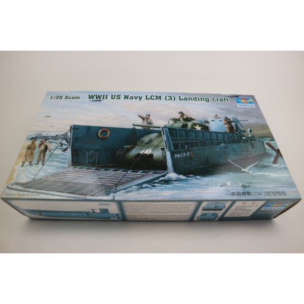 WWII U.S. Navy LCM [3] Landing Craft