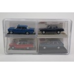 Taxi Set  ''Merc 190c , Rover p6 , Bmw 2000 , Vw Passat''