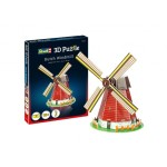 3D Puzzel ''Nederlandse Windmolen''